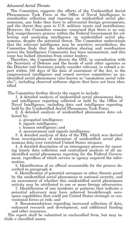 Senate Intelligence Provision